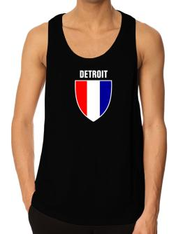 Detroit Escudo Usa Tank Top