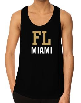 Miami - Postal usa Tank Top