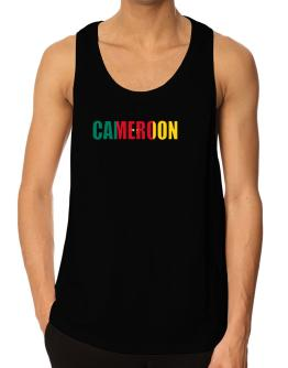 Cameroon Flag Tank Top