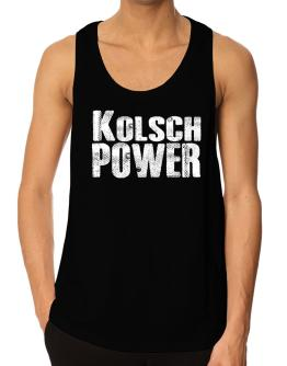 Kolsch power Tank Top
