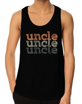 Auncle repeat retro Tank Top