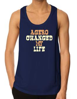 """ Agüero changed my life "" Tank Top"