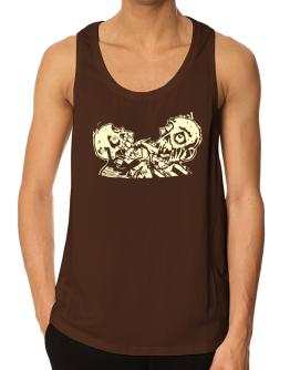 Two Undead Tank Top