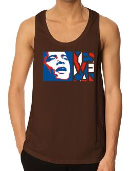 Yes We Can - Obama Tank Top