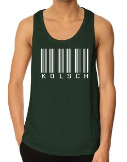 """ Kolsch - Single Barcode "" Tank Top"