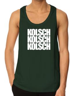 Three words Kolsch Tank Top