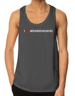 I love American Mission Anglicans Girls Tank Top