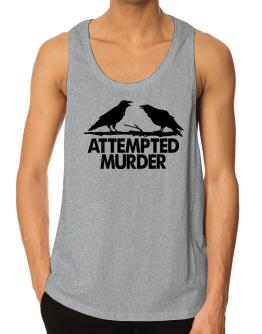 Crows Attempted Murder Tank Top