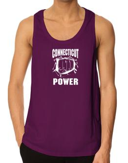 Connecticut Fist of Power Tank Top