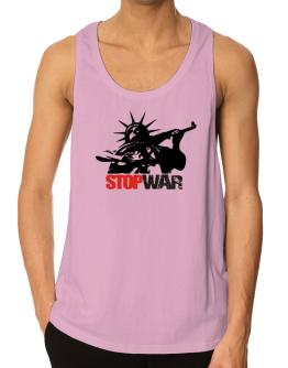 Statue Of Liberty : Stop War Tank Top