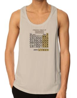 Periodic Table of Beer Tank Top