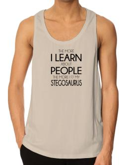 Polo Playero de The more I learn about people the more I love my Stegosaurus