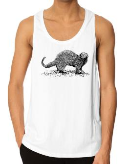 Ferret sketch Tank Top