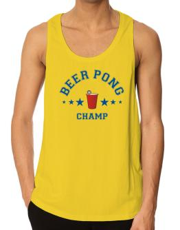 Beer Pong Champ Tank Top