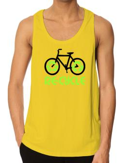Recycle bicycle Tank Top