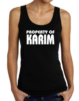 """ Property of Karim "" Tank Top Women"