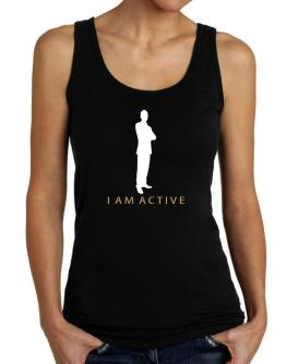 I Am Active  - Male Tank Top Women