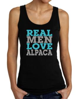 Real Men Love Alpaca Tank Top Women