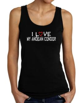 I Love My Andean Condor Tank Top Women