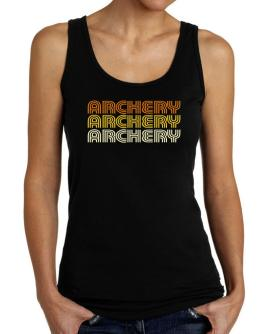 Archery Retro Color Tank Top Women