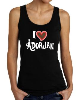 I Love Adorjan Tank Top Women