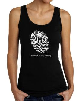 Ammonite Is My Identity Tank Top Women