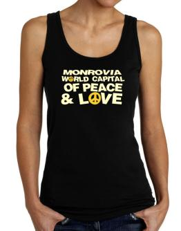 Monrovia World Capital Of Peace And Love Tank Top Women