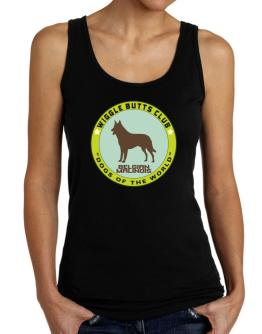 Belgian Malinois - Wiggle Butts Club Tank Top Women