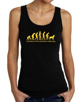 Evolution Of The Australian Cattle Dog Tank Top Women