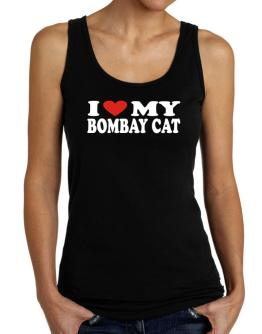 I Love My Bombay Tank Top Women