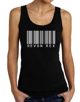 Devon Rex Barcode Tank Top Women