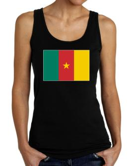 Cameroon Flag Tank Top Women