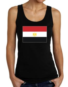 Egypt Flag Tank Top Women