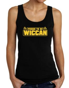 Proud To Be Wiccan Tank Top Women