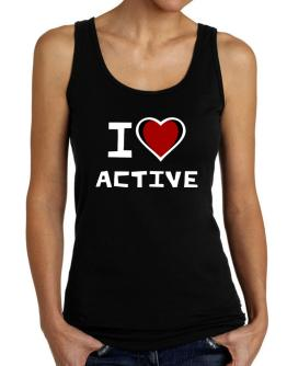 I Love Active Tank Top Women