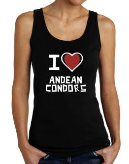 I Love Andean Condors Tank Top Women