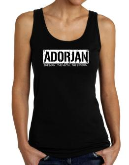 Adorjan : The Man - The Myth - The Legend Tank Top Women