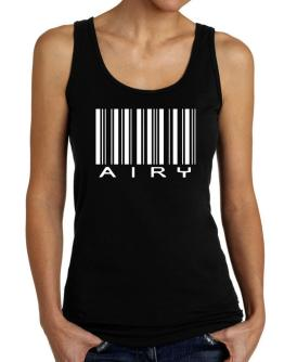 Airy Barcode Tank Top Women