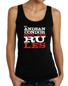 My Andean Condor Sets The Rules Tank Top Women