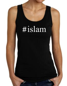 #Islam Hashtag Tank Top Women