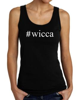 #Wicca Hashtag Tank Top Women