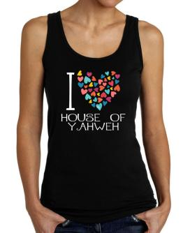 I love House Of Yahweh colorful hearts Tank Top Women