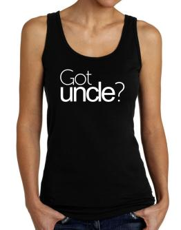 Got Auncle? Tank Top Women