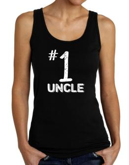 Number 1 Auncle Tank Top Women