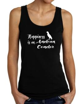Happiness is a Andean Condor Tank Top Women