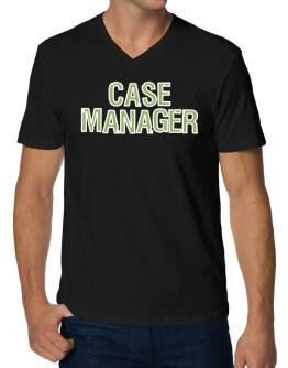 Case Manager V-Neck T-Shirt