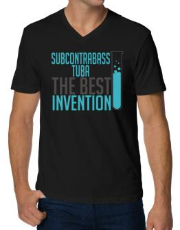 Subcontrabass Tuba The Best Invention V-Neck T-Shirt