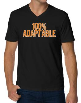 100% Adaptable V-Neck T-Shirt