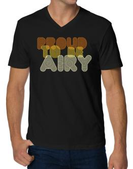 Proud To Be Airy V-Neck T-Shirt