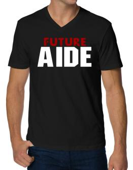 Future Aide V-Neck T-Shirt